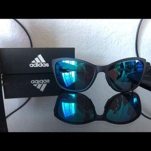 Black framed Adidas Sunglasses